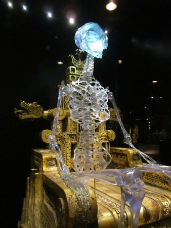 Crystal Skull Alien Skeleton
