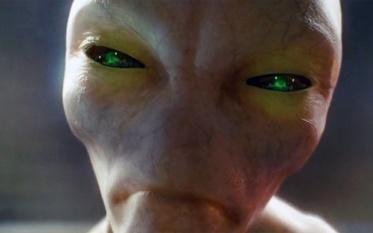 Alien from Crystal Skull